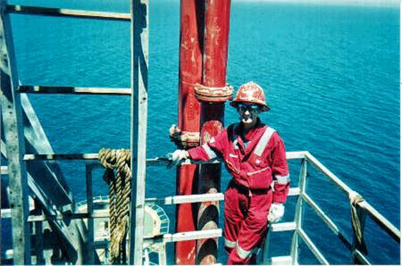 A Day in the Life of . . . a Wellsite Geologist