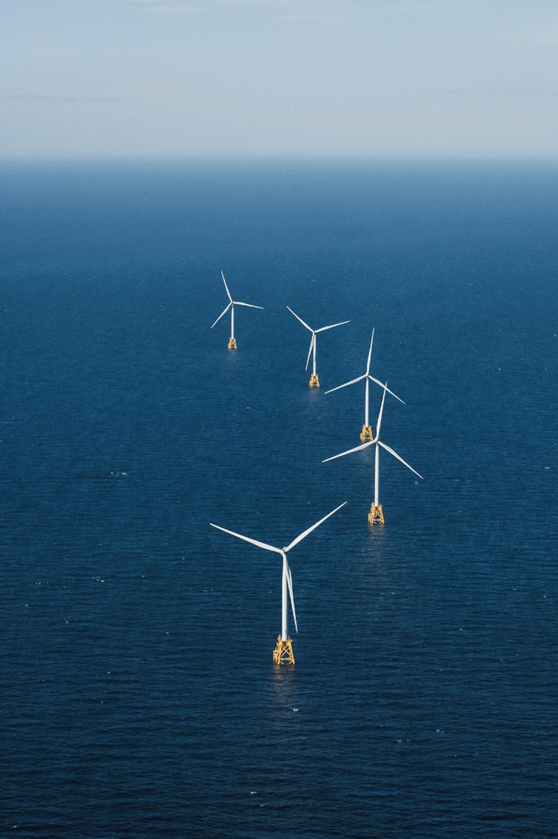 Block Island Wind Farm. Photo courtesy of Ørsted.