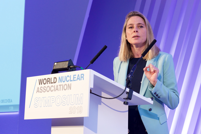 General Director of the World Nuclear Association, Sama Bilboa y León, Ph.D.