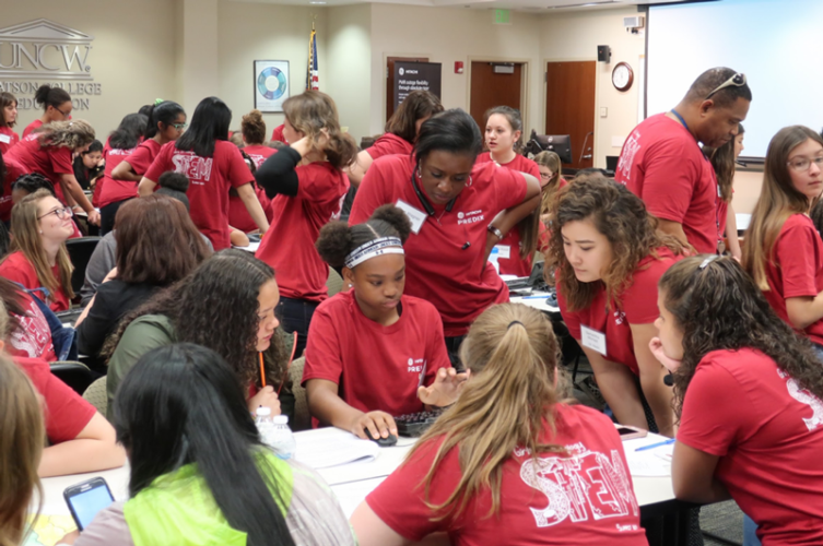 GE Hitachi Nuclear Energy 2019 annual STEM event. Photo courtesy of GE Hitachi Nuclear Energy.