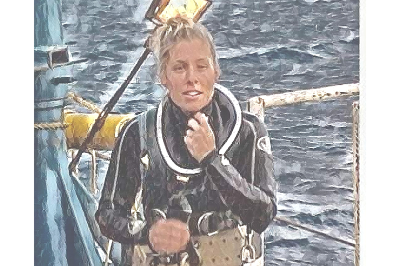 Marni Zabarsky, First Female Saturation Diver, Gulf of Mexico