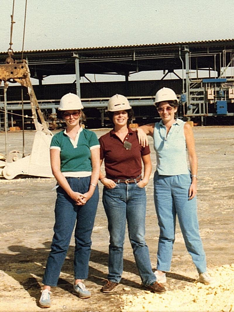 L-R Virginia, Anita and Barbara MacMullan, 1978. Photo courtesy of Barbara MacMullan.