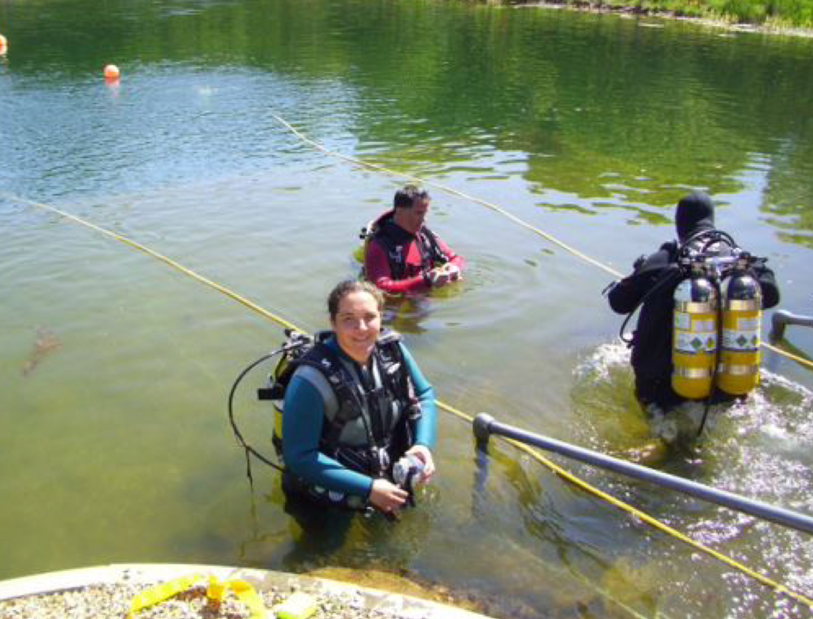 Geophysicist Takes the Plunge into Second Career