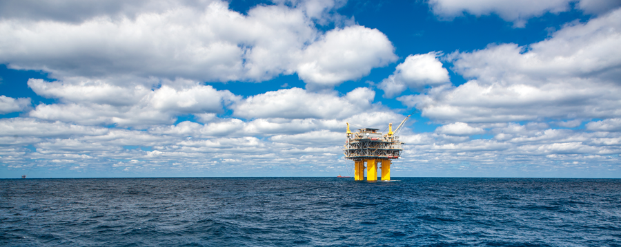 Shenzi platform operated by BHP in the Gulf of Mexico.