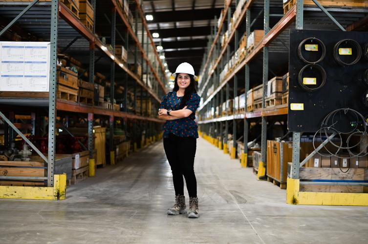 Ilyani Sanchez, Warehouse Supervisor