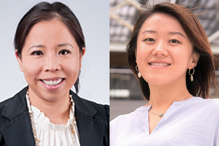Left: Hao Zhu, PhD, assistant professor in the Department of Electrical and Computer Engineering at the University of Texas at Austin. Right: Ning Lin, PhD, with the Bureau of Economic Geology, which is the Texas State Geological Survey and the second largest research unit of UT-Austin.